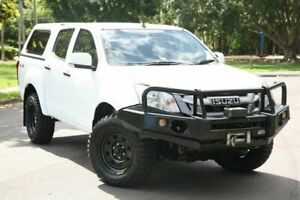 2016 Isuzu D-MAX MY15 SX Crew Cab White 5 Speed Sports Automatic Cab Chassis
