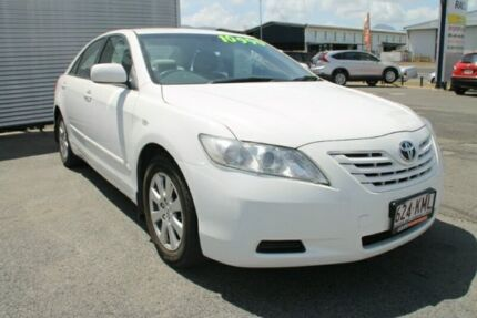 2007 Toyota Camry ACV40R Altise White 5 Speed Automatic Sedan