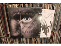 Francis Dunnery - Vampires Signed vinyl record lp