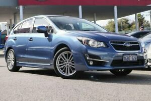 2016 Subaru Impreza G4 MY16 2.0i-S Lineartronic AWD Blue 6 Speed Constant Variable Hatchback Osborne Park Stirling Area Preview
