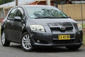 2007 Toyota Corolla ZRE152R Conquest Charcoal Grey 4 Speed Automatic Hatchback Lansvale Liverpool Area Preview