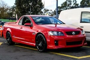 2010 Holden Ute VE MY10 SS Red 6 Speed Sports Automatic Utility Ringwood East Maroondah Area Preview