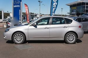 2010 Subaru Impreza G3 MY10 RX AWD Silver 5 Speed Manual Hatchback Brookvale Manly Area Preview