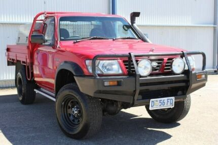 2002 Nissan Patrol GU DX Plus Red 5 Speed Manual Cab Chassis