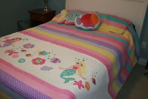 Mermaid Bedspread Double