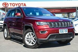 2018 Jeep Grand Cherokee WK MY18 Laredo (4x4) Red 8 Speed Automatic Wagon