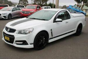 2013 Holden Ute VF MY14 SS V Ute Redline White 6 Speed Sports Automatic Utility Goulburn Goulburn City Preview