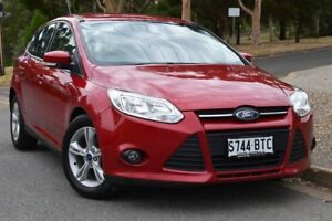 2013 Ford Focus LW MKII Trend Red 5 Speed Manual Hatchback St Marys Mitcham Area Preview