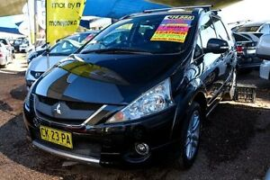 2010 Mitsubishi Grandis BA MY09 VR-X Black 4 Speed Sports Automatic Wagon Minchinbury Blacktown Area Preview