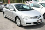 2008 Honda Civic 8th Gen MY08 VTi Alabaster Silver 5 Speed Automatic Sedan Underwood Logan Area Preview