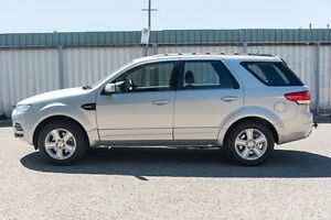 2011 Ford Territory SZ TX Seq Sport Shift AWD Silver 6 Speed Sports Automatic Wagon Greenacre Bankstown Area Preview
