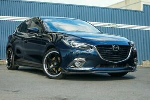 2013 Mazda 3 BM5438 SP25 SKYACTIV-Drive Astina Blue 6 Speed Sports Automatic Hatchback Tweed Heads Tweed Heads Area Preview