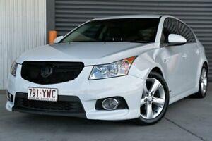 2012 Holden Cruze JH Series II MY12 SRi White 6 Speed Manual Hatchback Hendra Brisbane North East Preview