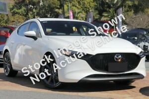 2019 Mazda 3 BP2HLA G25 SKYACTIV-Drive Evolve Snowflake White Pearl 6 Speed Sports Automatic Liverpool Liverpool Area Preview