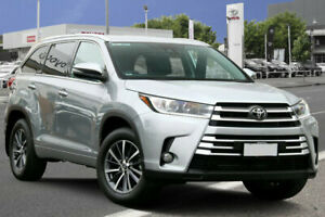 2018 Toyota Kluger GSU55R GXL AWD Silver 8 Speed Sports Automatic Wagon Cheltenham Charles Sturt Area Preview