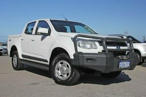 2015 Holden Colorado RG MY16 LS Crew Cab White 6 Speed Sports Automatic Utility Wangara Wanneroo Area Preview
