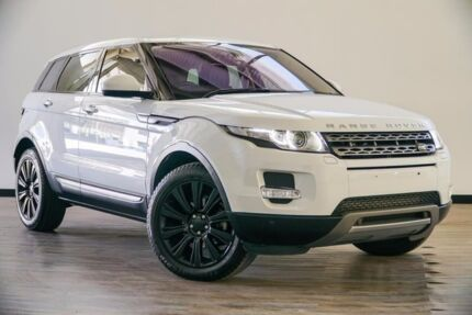 2014 Land Rover Range Rover Evoque L538 MY14 TD4 Pure Tech White 9 Speed Sports Automatic Wagon