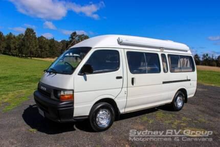 U2961 Toyota Hiace Campervan, Side & Rear Access, Spacious Layout Penrith Penrith Area Preview