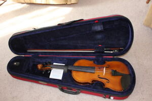 3/4 Size Stentor II  Model 1500 Violin/Fiddle Outfit