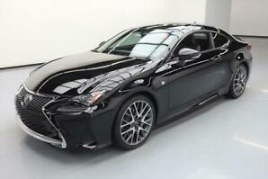 2015 Lexus RC 350 F Sport Coupe (2 door)