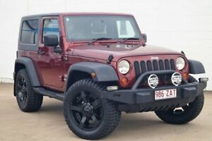 2009 Jeep Wrangler JK MY2009 Sport Red 6 Speed Manual Softtop