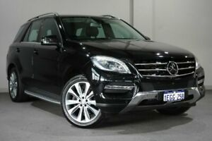 2013 Mercedes-Benz M-Class W166 ML350 BlueEFFICIENCY 7G-Tronic + Black 7 Speed Sports Automatic Bayswater Bayswater Area Preview