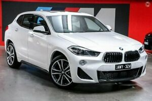 2018 BMW X2 F39 sDrive18i Coupe DCT M Sport White 7 Speed Sports Automatic Dual Clutch Wagon South Melbourne Port Phillip Preview