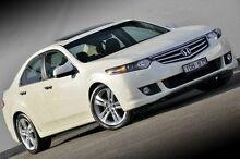 2011 Honda Accord Euro CU MY11 Luxury White 5 Speed Automatic Sedan Ferntree Gully Knox Area Preview