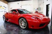 2002 Ferrari 360 Modena F1 Red 6 Speed Seq Manual Auto-Clutch Coupe East Perth Perth City Area Preview