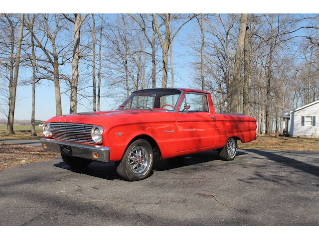Image 1 of Ford: Ranchero Red