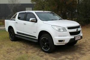 2014 Holden Colorado RG MY15 LTZ Crew Cab White 6 Speed Sports Automatic Utility
