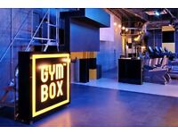 Gymbox (all access for 9 months) membership for sale from 1st May
