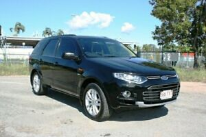 2011 Ford Territory SZ TS Seq Sport Shift AWD Black 6 Speed Sports Automatic Wagon Townsville Townsville City Preview