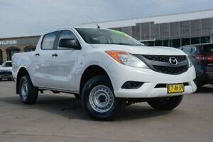 2014 Mazda BT-50 UP0YF1 XT 4x2 Hi-Rider White 6 Speed Manual Utility McGraths Hill Hawkesbury Area Preview