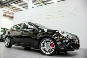 2014 Alfa Romeo Giulietta Quad Verde Black 6 Speed Manual Hatchback Port Melbourne Port Phillip Preview