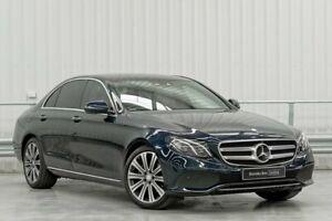 2016 Mercedes-Benz E-Class W213 E200 9G-Tronic PLUS Blue 9 Speed Sports Automatic Sedan