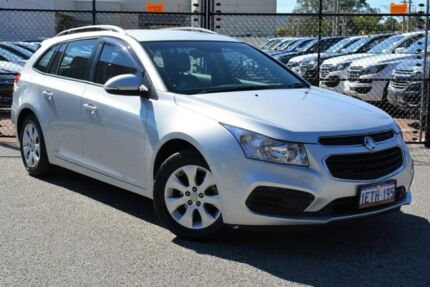 2015 Holden Cruze JH Series II MY16 CD Sportwagon Silver 6 Speed Sports Automatic Wagon Gosnells Gosnells Area Preview