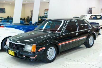 1979 Holden Commodore VB SL Black 4 Speed Manual Sedan