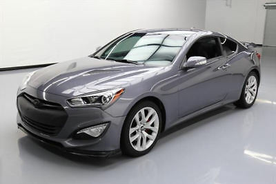 2015 HYUNDAI GENESIS 3.8 COUPE PADDLE SHIFT SPOILER 28K #122324 Texas Direct