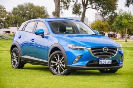 2015 Mazda CX-3 DK4WSA sTouring SKYACTIV-Drive i-ACTIV AWD Blue 6 Speed Sports Automatic Wagon Burswood Victoria Park Area Preview