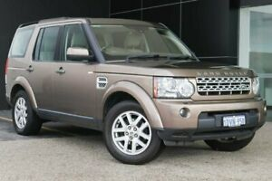 2012 Land Rover Discovery 4 Series 4 MY12 TdV6 CommandShift Bronze 6 Speed Sports Automatic Wagon Wangara Wanneroo Area Preview