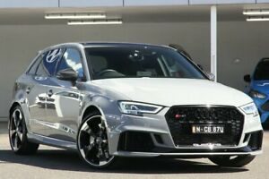 2021 Audi RS 3 8V MY20 2.5 TFSI Quattro Carbon Editn Grey 7 Speed Auto S-Tronic Sportback
