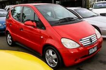 1999 Mercedes-Benz A160 W168 Classic Red 5 Speed Automatic Hatchback Ringwood East Maroondah Area Preview