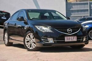 2008 Mazda 6 GH Series 1 Luxury Black Sports Automatic Kedron Brisbane North East Preview