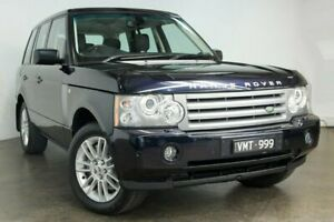 2009 Land Rover Range Rover Vogue L322 09MY TDV8 Blue 6 Speed Sports Automatic Wagon South Melbourne Port Phillip Preview