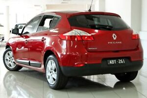 2013 Renault Megane III B95 MY13 Expression Dynamic Red 6 Speed Constant Variable Hatchback