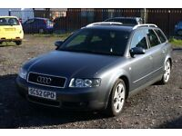 Audi A4 2.0 (Cheap estate with MOT)