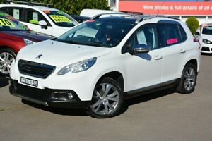 2015 Peugeot 2008 A94 Outdoor White 5 Speed Manual Wagon New Lambton Newcastle Area Preview