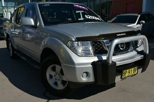 2010 Nissan Navara D40 ST Silver 5 Speed Automatic Utility Pearce Woden Valley Preview