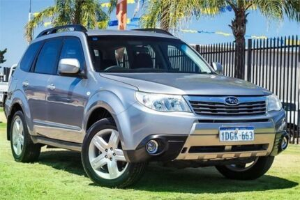 2010 Subaru Forester S3 MY10 XS AWD Silver 4 Speed Sports Automatic Wagon Wangara Wanneroo Area Preview